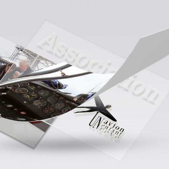 Patrick Colette partenaire de l'association, un avion, un enfant, un rêve.